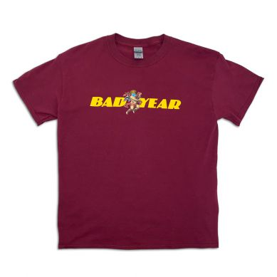 Bad Year Shirt - weinrot